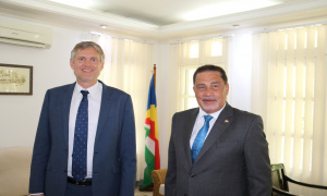 Newly accredited ambassador for Denmark pays courtesy call on Minister Radegonde