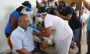President of Seychelles takes COVID-19 Vaccine: Seychelles launches National COVID-19 Immunisation Campaign