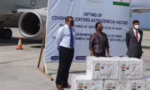 India gifts Seychelles with COVISHIELD vaccines